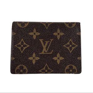 Louis Vuitton Monogram Card Holder Wallet